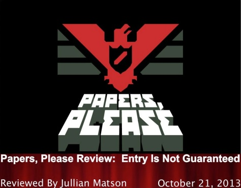 Papers Please Title Graphic