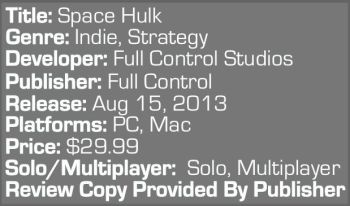 Space Hulk Info Graphic