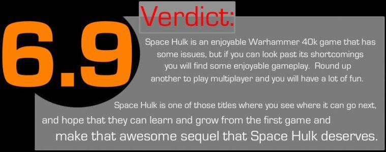 Space Hulk Verdict Graphic