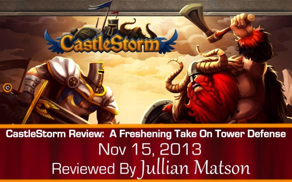 CastleStorm Title Card Graphic